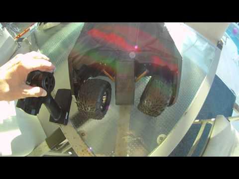 RC Batmobile Tumbler Modified
