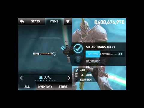 How To Forge A Rare Spectrum Gem In Infinity Blade 2