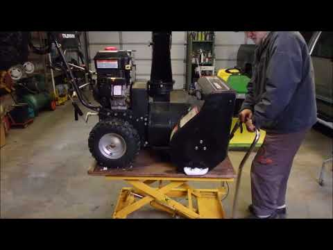 A Briggs and Stratton Snowblower Won't Move