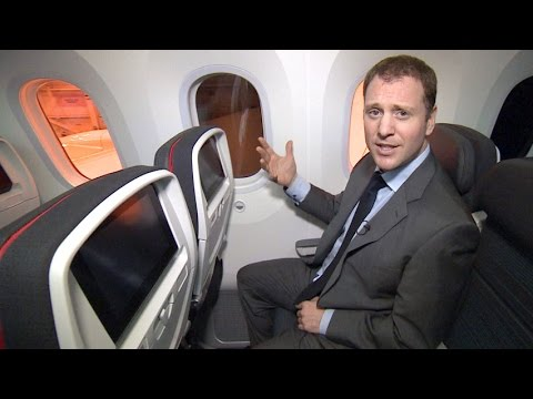 A tour of Air Canada's Dreamliner