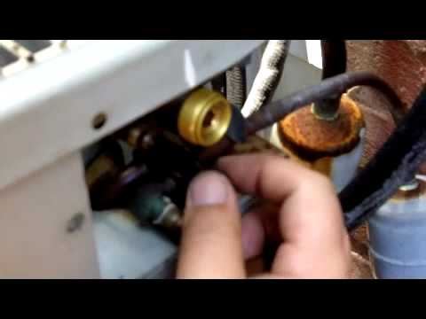 Air Conditioning Freon Leak Check