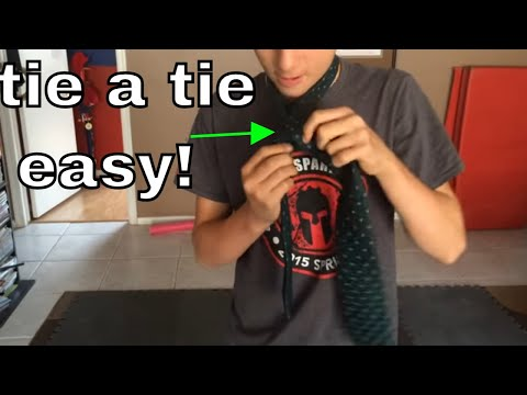 How To Tie A Tie Step By Step EASY!