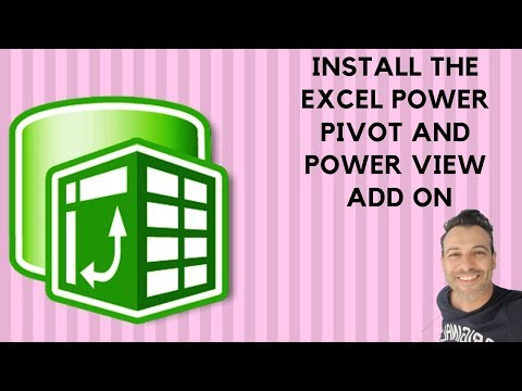 Excel Powerpivot basics: Install the Excel Power Pivot and Power View add ins
