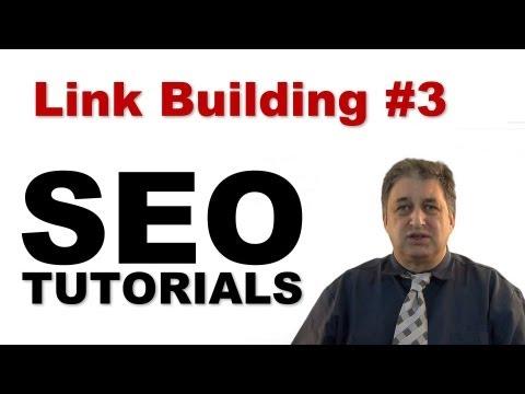 Link Building #3   SEO Tutorials