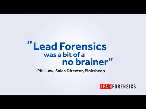 Pinksheep gain the competitive edge with Lead Forensics