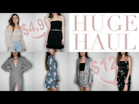 MASSIVE SPRING TRY ON HAUL ♡ Revolve, Urban Outfitters, Reformation, Forever 21, ASOS & More!