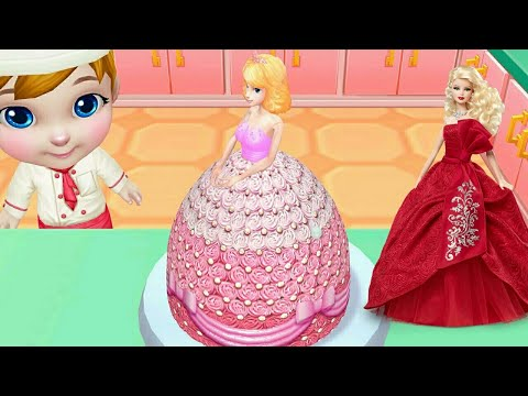 3D CAKE Wedding Cake Games-learn how to make cakes/ Real Cake Compilation