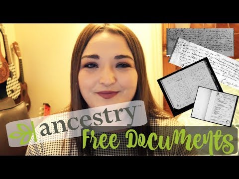 How to view Free Records on Ancestry.com | Free Index Ancestry Documents, Records, Research