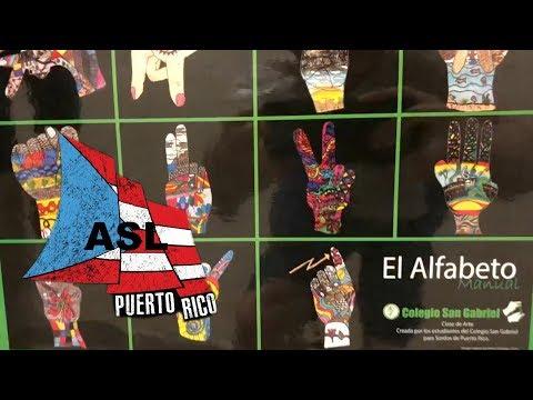 ASL Sign Language and Deaf Culture in Puerto Rico con Mis Amigos Sordos