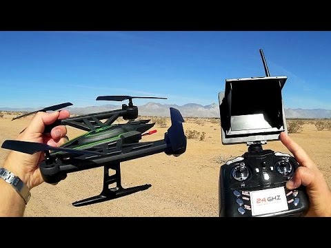 JXD 510G Predator Altitude Hold FPV Drone Flight Test Review