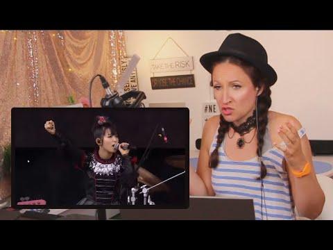 Xxx Mp4 Vocal Coach Reacts To BABYMETAL KARATE Live UK Download 2016 3gp Sex