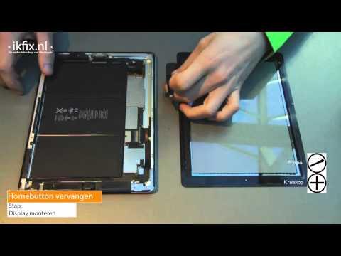 iPad 3 home button vervangen