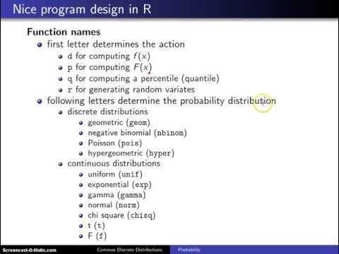 Binomial distribution calculations in R