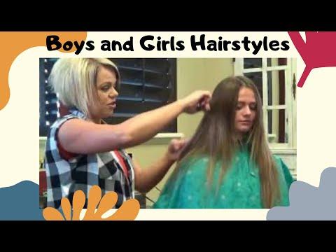 Long Natural Hair - Cut Hair Straight Across (Long Hairstyles)