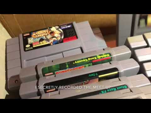 Video Game Hunting Episode 1: $100 box of Super Nintendo games Harvest Moon Mario Donkey Kong & More