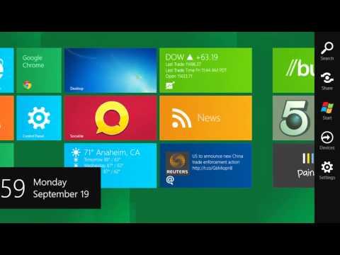 How To Shutdown, Restart or Sleep a Windows 8 Tablet