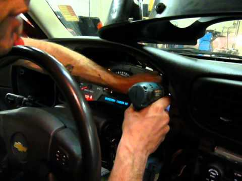 GMC Envoy, Chevrolet Trailblazer, Buick Raineer, Isuzu Ascender  cluster removal part 2