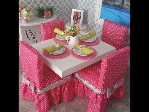 DIY Dining Chairs for American Girl Dolls