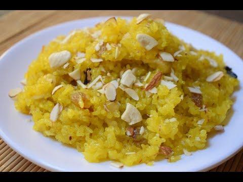 Basant Panchmi Special Meethe Chawal  Zarda Pulav  Sweet Rice Meetha Chawal Kesar Pulao  Zarda Rice