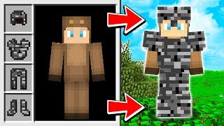 THIS ARMOR IS BANNED FROM MINECRAFT!