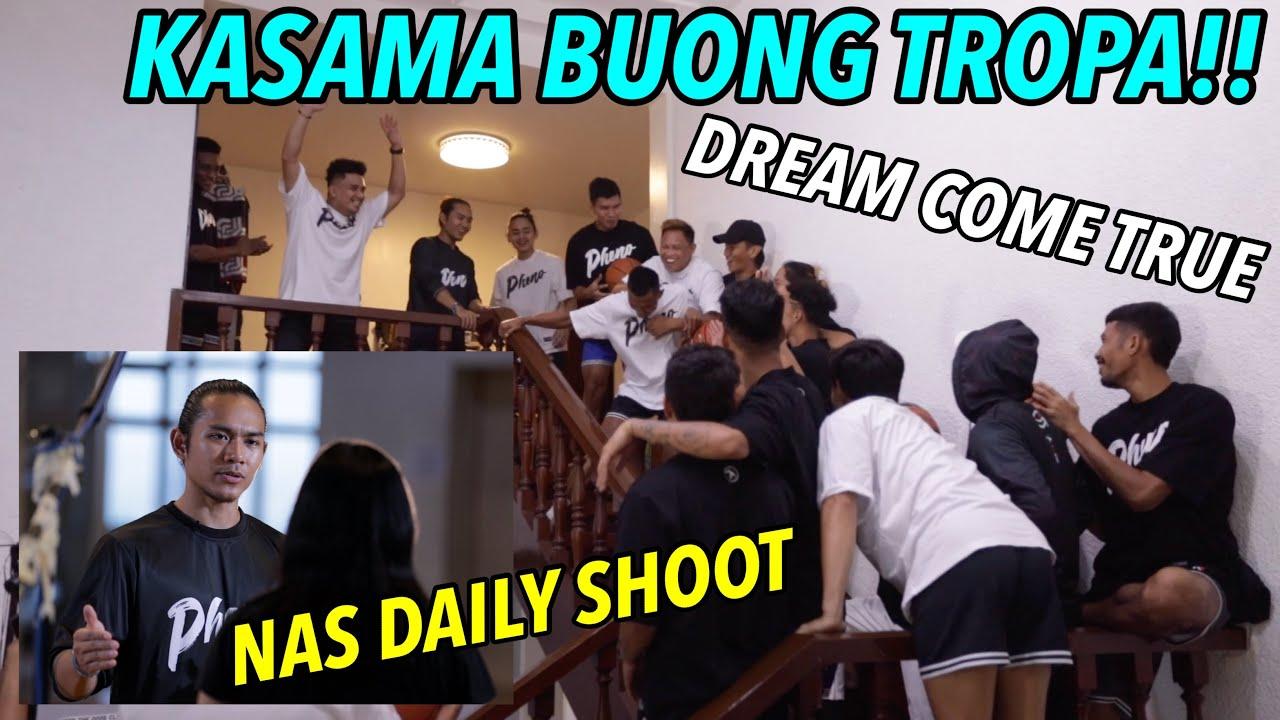 NAGUMPISA NA ANG SHOOT SA NAS DAILY KASAMA ANG BUONG GRUPO | S.2. vlog 214