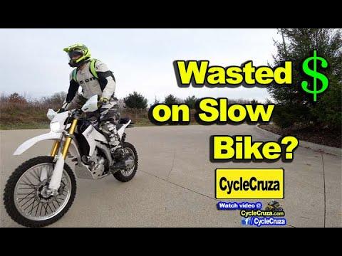 CycleCruza Wasted Money on Slow WR250r?  | MotoVlog