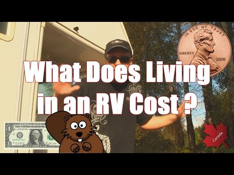 How much it Costs to Live Full Time in an RV???