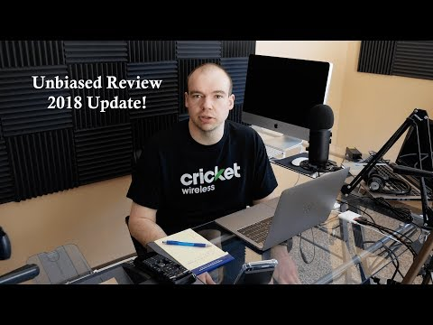 My Unbiased Review Of Cricket Wireless - 2018 Update!!