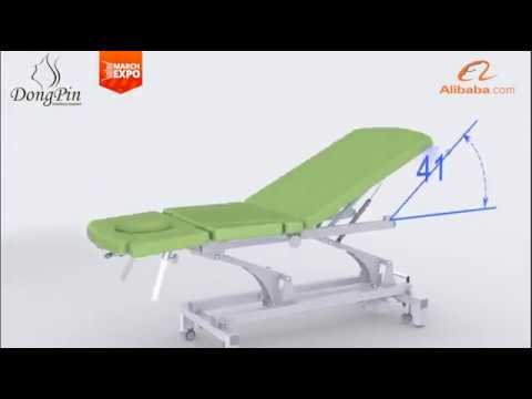 Discover New Products during March Expo - Massage table