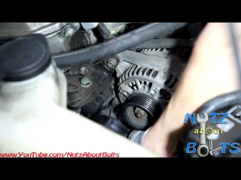 1998-2008 Toyota Corolla Alternator remove and install