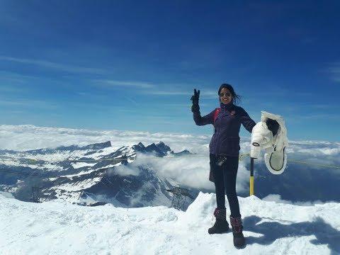 Journey to Mount Titlis, Switzerland