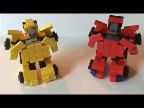 Lego Transformers g1 Bumblebee & Cliffjumper