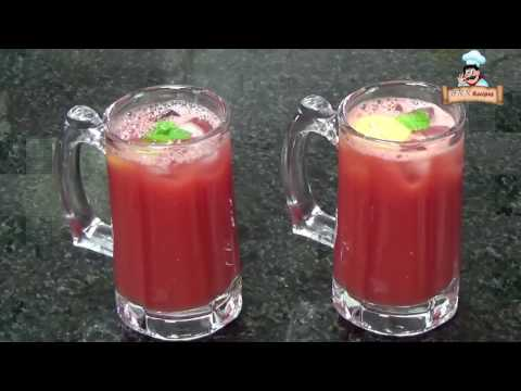 Refreshing Watermelon juice by Deepa Khurana