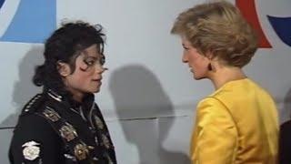 Michael Jackson meets Princess Diana & Prince Charles