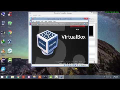 How to Install Kali Linux in VM VirtualBox and Configure the network. (100%)