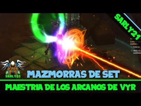 Diablo 3 - Maestrías y lugar del Set de los arcanos de Vyr