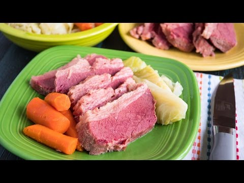 Pressure Cooker Corned Beef and Cabbage - Time Lapse