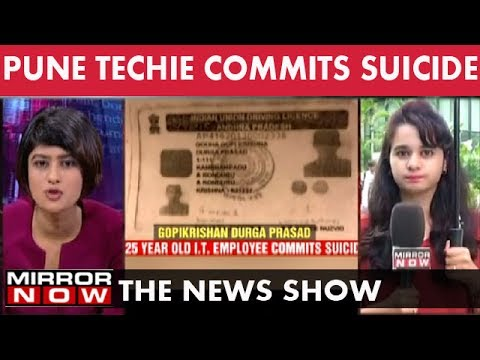I.T. Lay-offs claim a life in Pune I – July 13
