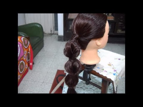 A Simple, Easy and Elegant Box Braid Hairstyle.