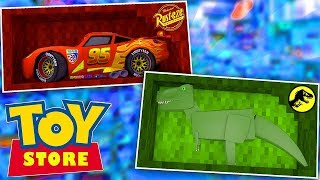 Minecraft Toy Store - WHO LET OUT THE T-REX!?