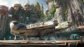 Star Wars Land Announcement & Details for Disneyland and Walt Disney World, D23 Expo, Launch Bay