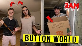 The BUTTON WORLD DIMENSION Has TAKEN OVER my HOME AT 3 AM!! (WE HAVE TO MOVE)