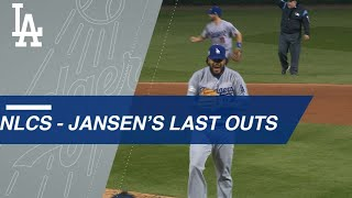 Kenley Jansen closes out all four NLCS wins