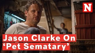 Download Jason Clarke On Shooting 'Pet Sematary': 'I Was Out Of My Mind For Most Of It' Video