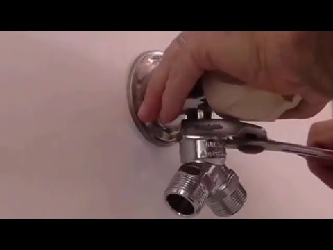 How to fit tap two Washing Machines hoses Add-a-tap