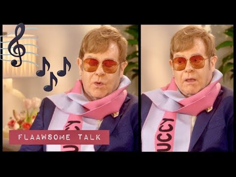 ELTON JOHN Goes Down Memory Lane...
