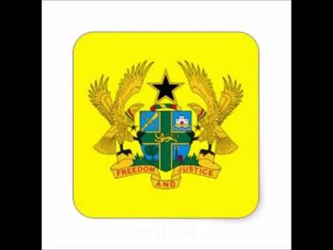 STICKER COAT OF ARMS GHANA