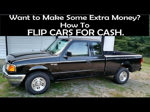 Flipping Cars As A Side Job. How You Can Make An Extra 1K To 2K A Month.