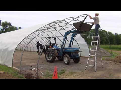 Big Aquaponic Greenhouse - Part 8 - SolaWrap Cover Details