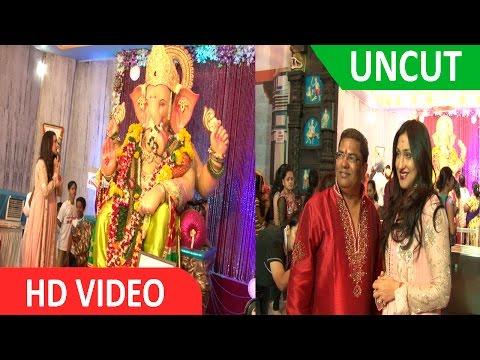 UNCUT | Actress Rituparna Sengupta Visit Andheri Cha Raja